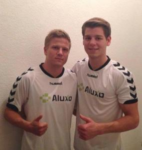 Nik und Marco beim Halbmarathon